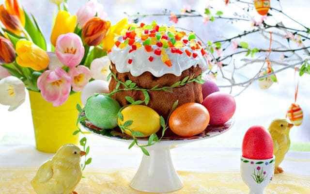 Поздравляю с праздником Пасхи!
