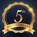 Пятилетие блога